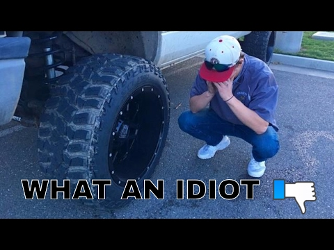 I messed up my Cummins buying these 20x12 wheels..