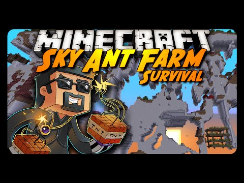 Sky Ant Farm Survival | THE LOST DIAMONDS! | Ep. 6