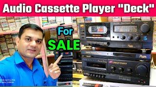 New Audio Cassette Player Tape Deck For Sale । Fld Cassette Player। Golden Deck । Contect 9425634777
