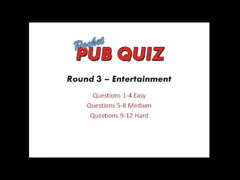 Pocket Pub Quiz 1