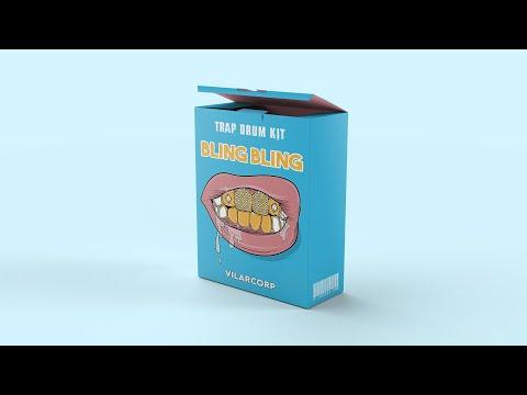 BLING BLING Trap Drum Kit