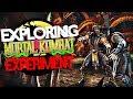 Exploring All MORTAL KOMBAT Games! - Hidden Camera Exploration (Inaccessible Areas & Glitches)