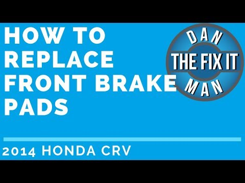 2014 Honda CR-V – HOW TO REPLACE FRONT BRAKE PADS -DIY