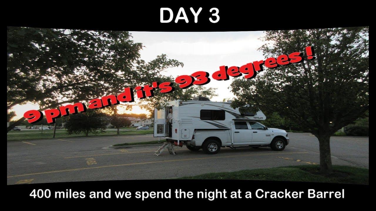 Day 3 - Cracker Barrel, Junction City KS