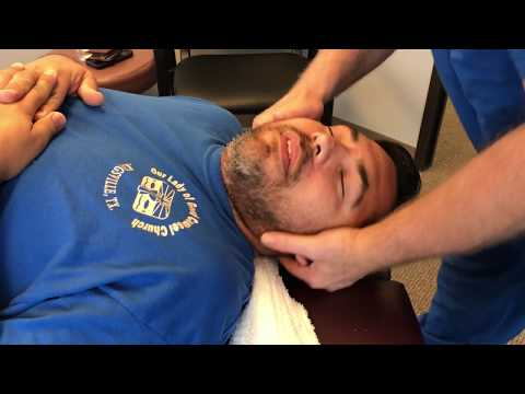 First Time Chiropractic Adjustment for Marine Veteran