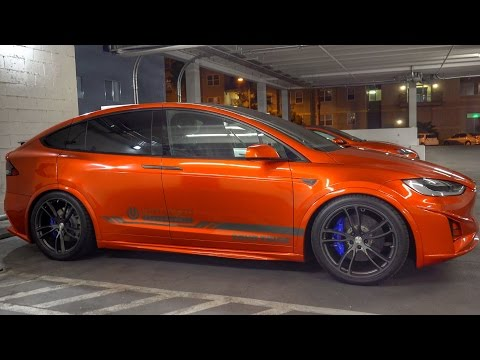 You've NEVER seen a TESLA like this!!