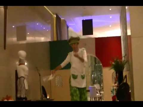 Pizza Chef Entertainment at Millennium Doha