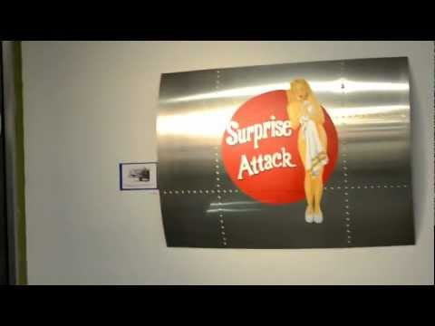 "Big Zinky Gallery ""Airplane Nose Art by Sant"" 5/13/2012"
