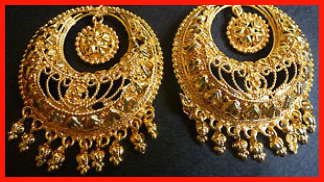 2c92624ed6ecd 10 Gold Plated Chandbali Earring Designs - 7th Item A MUST Check Out