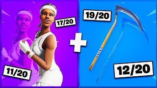 🔥 I NOTE YOUR 20 TRYHARD SKIN COMBOS ON FORTNITE! v12