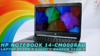 HP Notebook 14-CM0008AU | AMD Ryzen 3 2200U + Kartu Grafis Radeon Vega 3 #Ulasan Eps. 239