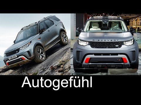 Land Rover Discovery SVX new rugged offroad version - Autogefühl
