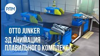 OTTO JUNKER 3Д анимация плавильного комплекса