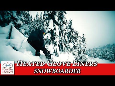 Canadian Heated Apparel - Whistler BlackComb Snowboarder   MotionHeat   Heated Gloves   HeatedJacket