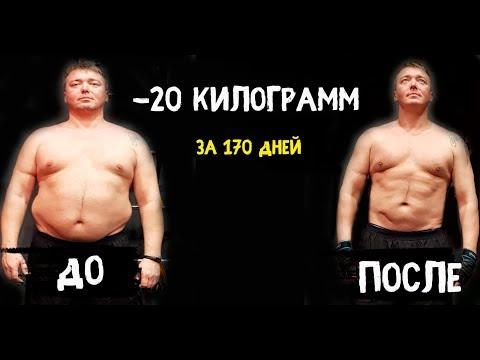 ДО и ПОСЛЕ/Похудел на 20 килограмм/Трансформация тела