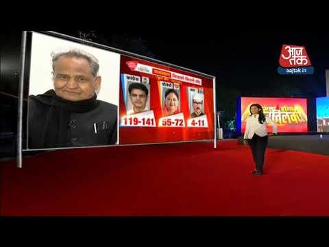 Exit Poll के नतीजों पर Ashok Gehlot ने रखी अपनी राय | Anjana Om Kashyap के साथ  Rajtilak
