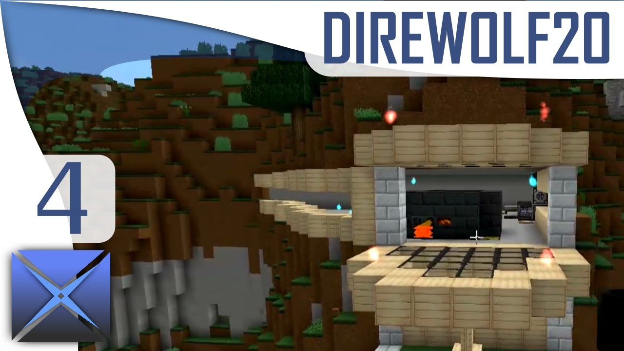 Mountain Base Design Ftb Direwolf20 Mc 1 10 4 Youtube