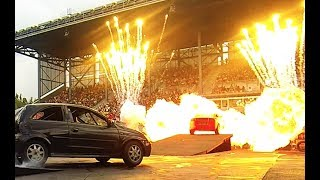 Lights Motors Action Extreme Stunt Show Highlight Reel
