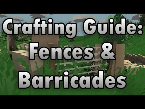 Unturned Barbed Wire Id | Unturned Crafting Guide Barricades Fences How To Make A Wooden