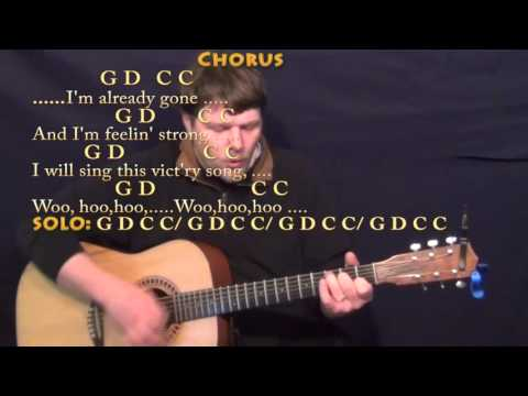 Already Gone (Eagles) Strum Guitar Cover Lesson with Chords/Lyrics