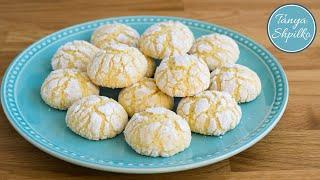 Апельсиновое Печенье | Orange Crinkle Cookies  | Tanya Shpilko