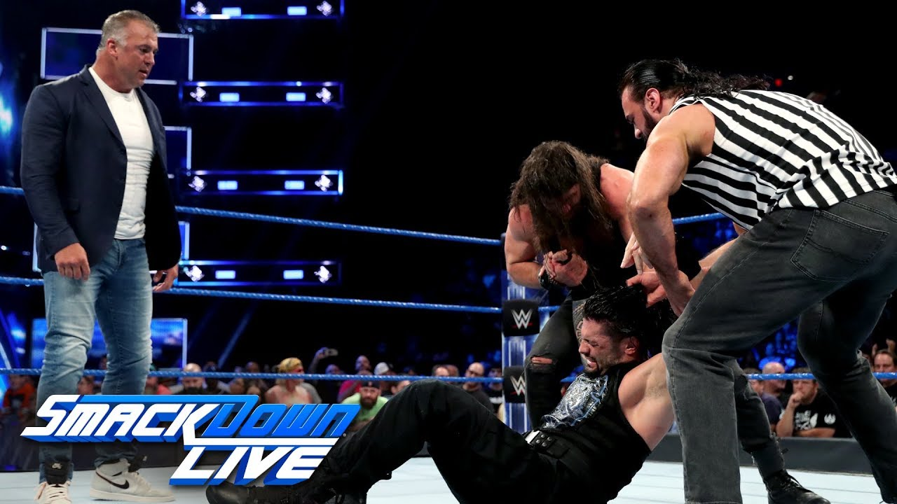 Download Roman Reigns vs. Kevin Owens: SmackDown LIVE, July 23, 2019
