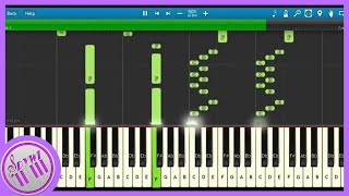 NateWantsToBattle - Salvaged || Synthesia Tutorial (spywi)