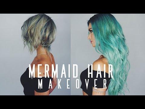 MERMAID HAIR MAKEOVER! | Monaco Salon Tampa