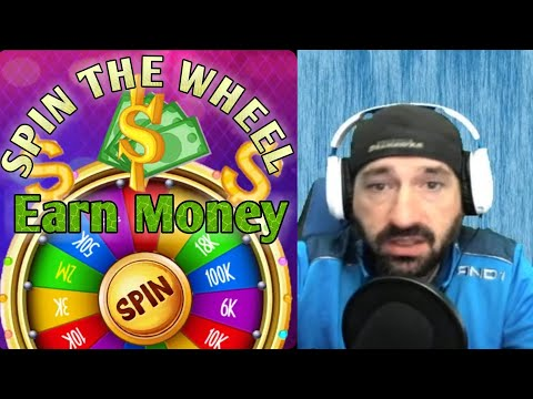 SPIN THE WHEEL Earn Money Cash Rewards Paypal App Apps Game Online 2021 Review Youtube Video