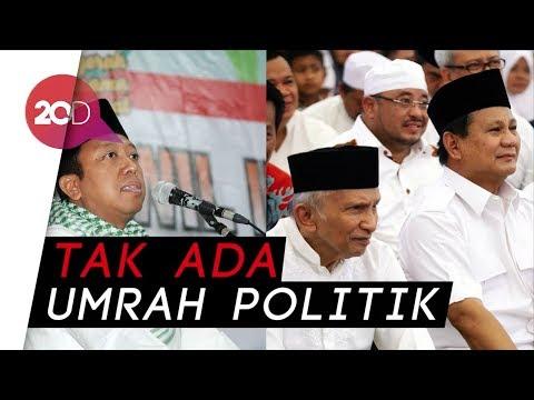 Romy Sebut Pertemuan Amien-Prabowo di Mekah Upaya Bangun Kekuatan