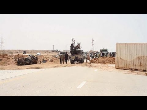 Libya reopens highway linking its east and west