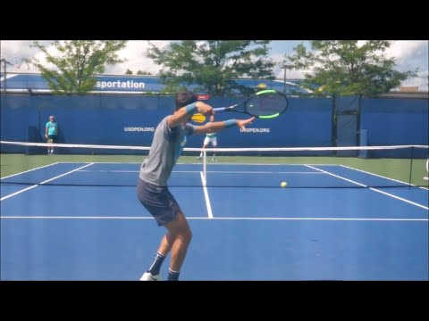 Karen Khachanov Forehands In Slow Motion