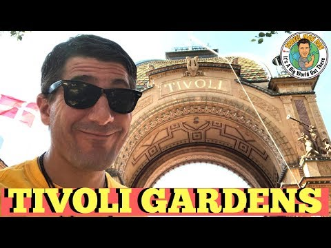 TIVOLI GARDENS IS THE GREATEST AMUSEMENT PARK IN THE WORLD-TRAVEL MAN DAN