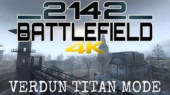 Battlefield 2142 In 2019 4K Multiplayer Verdun Titan Mode