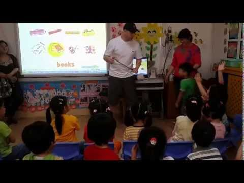 4 year old Kindergarten Parent Open Day class at Owen School Tianjin