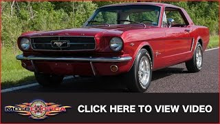 1965 Ford Mustang Coupe (SOLD)