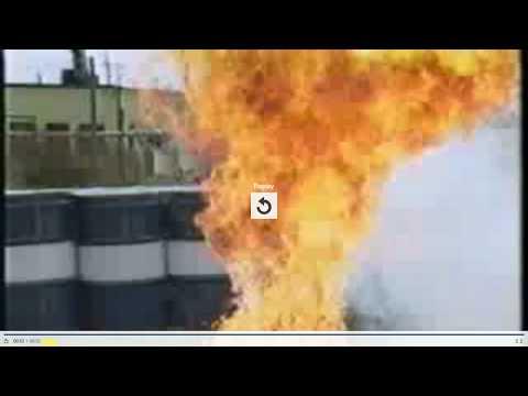 Arkema Chemical Plant Peroxide Self Ignition Demo- Hurricane Harvey