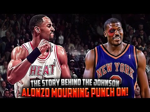 The Story Of The Alonzo Mourning & Larry Johnson PUNCH ON!