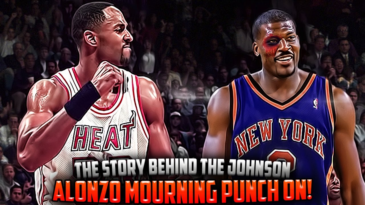 The Story The Alonzo Mourning & Larry Johnson PUNCH ON
