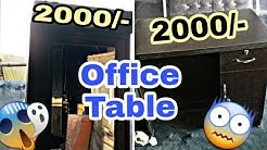 ✓अब Office  के लिए  केवल 600  मैं office Table // Office Almirah // Office chair