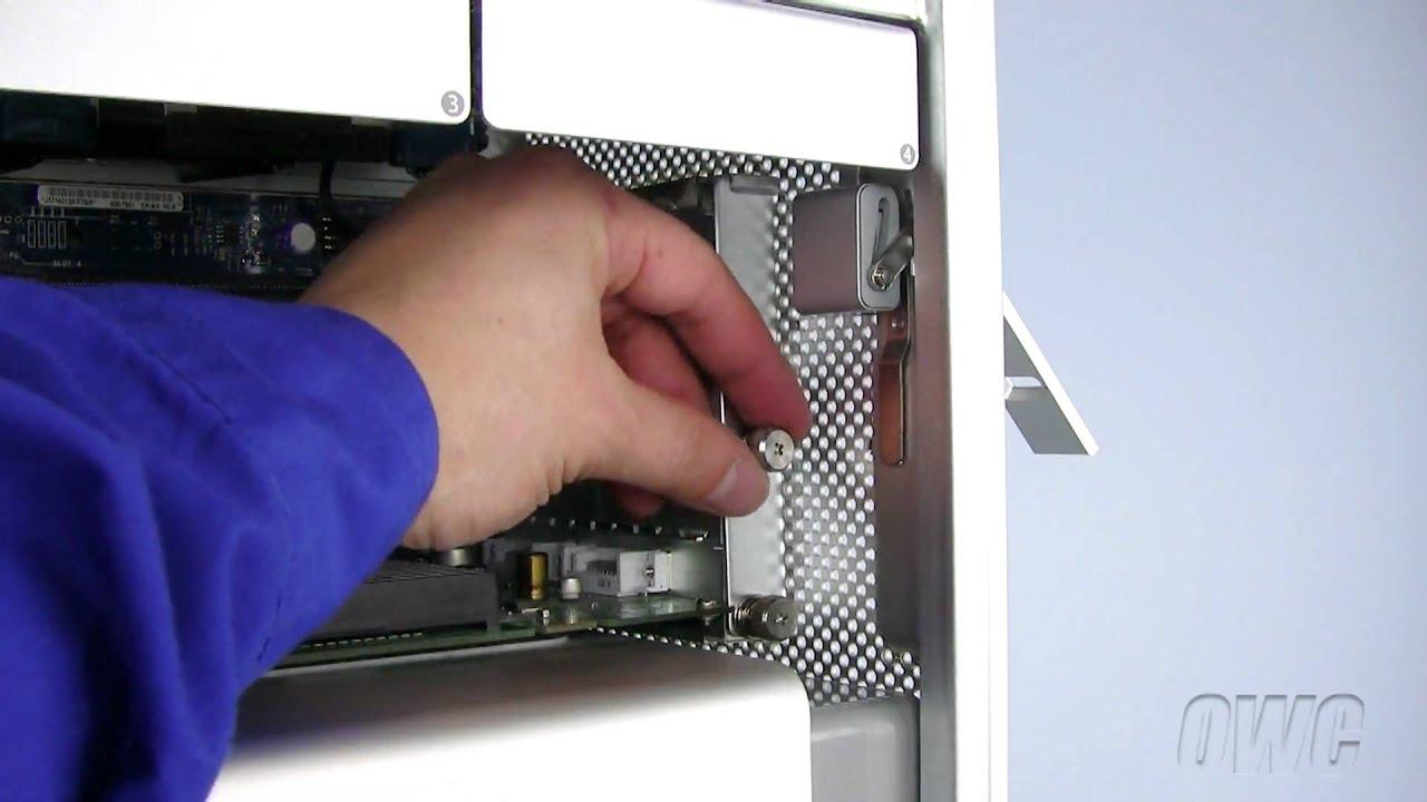 How to Install PCI Express Card (Mac Pro Models): EveryMac com