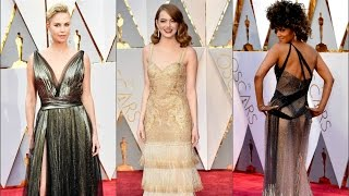 Оскар 2017  Самые яркие наряды звезд