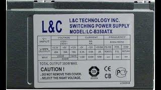 Жөндеу және БЖ LC-B350ATX