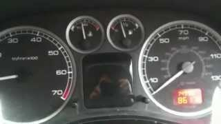 anti pollution fault peugeot 307 hdi