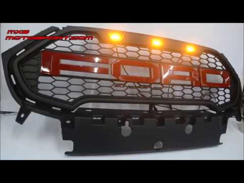 V Ford Ecosport Led Raptor Grill New Version By Mxsmotosport