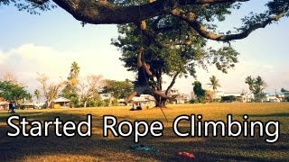 Started Rope Climbing