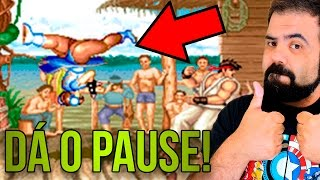 ADMITA, VOCÊ PAUSAVA O JOGO! – Street Fighter 2 World Warrior, O PAI DE TODOS