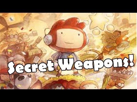 Scribblenauts: Unlimited - Secret Weapons/Guns!