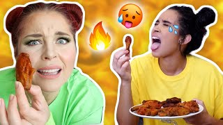 EXTREME Hot Wings & Celeb Fashion Trivia Challenge (Style Summer Olympics)
