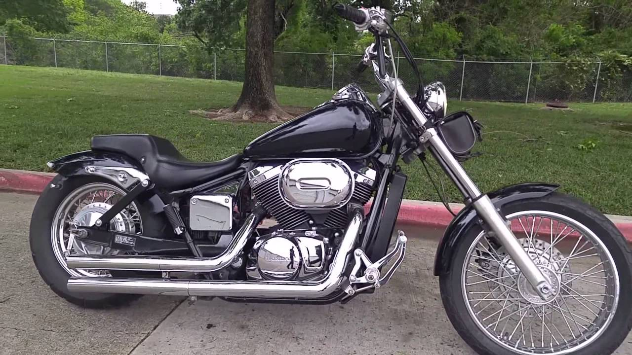 2005 honda shadow 750 bobber youtube. Black Bedroom Furniture Sets. Home Design Ideas